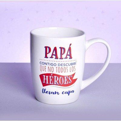 Papá contigo descubrí que no todos los héroes llevan capa