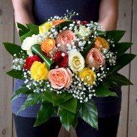 Bouquet de roses variades