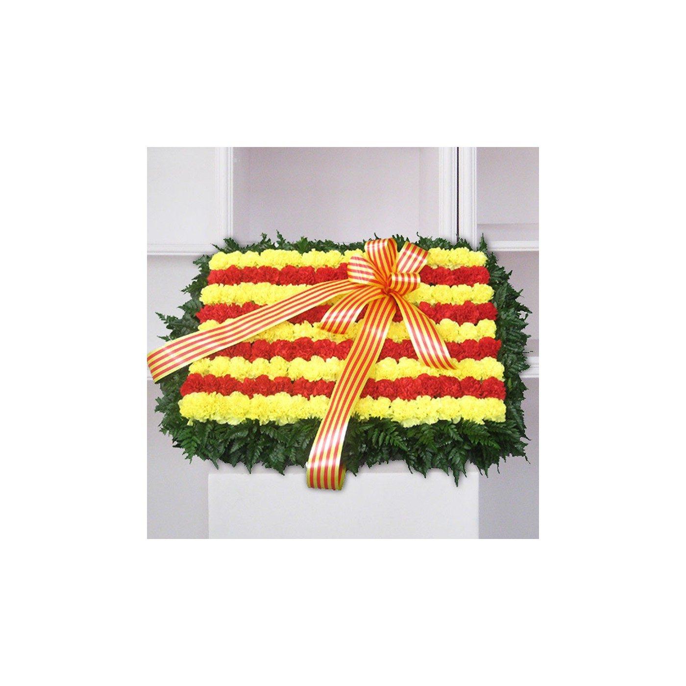 Plafón funerario Senyera