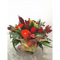 Special bouquet authum's colors
