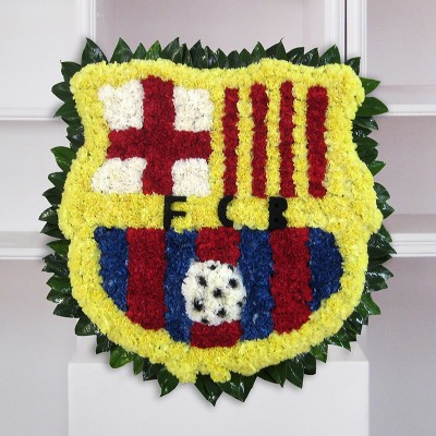 Comprar Plafón funerario del escudo del barça Barcelona