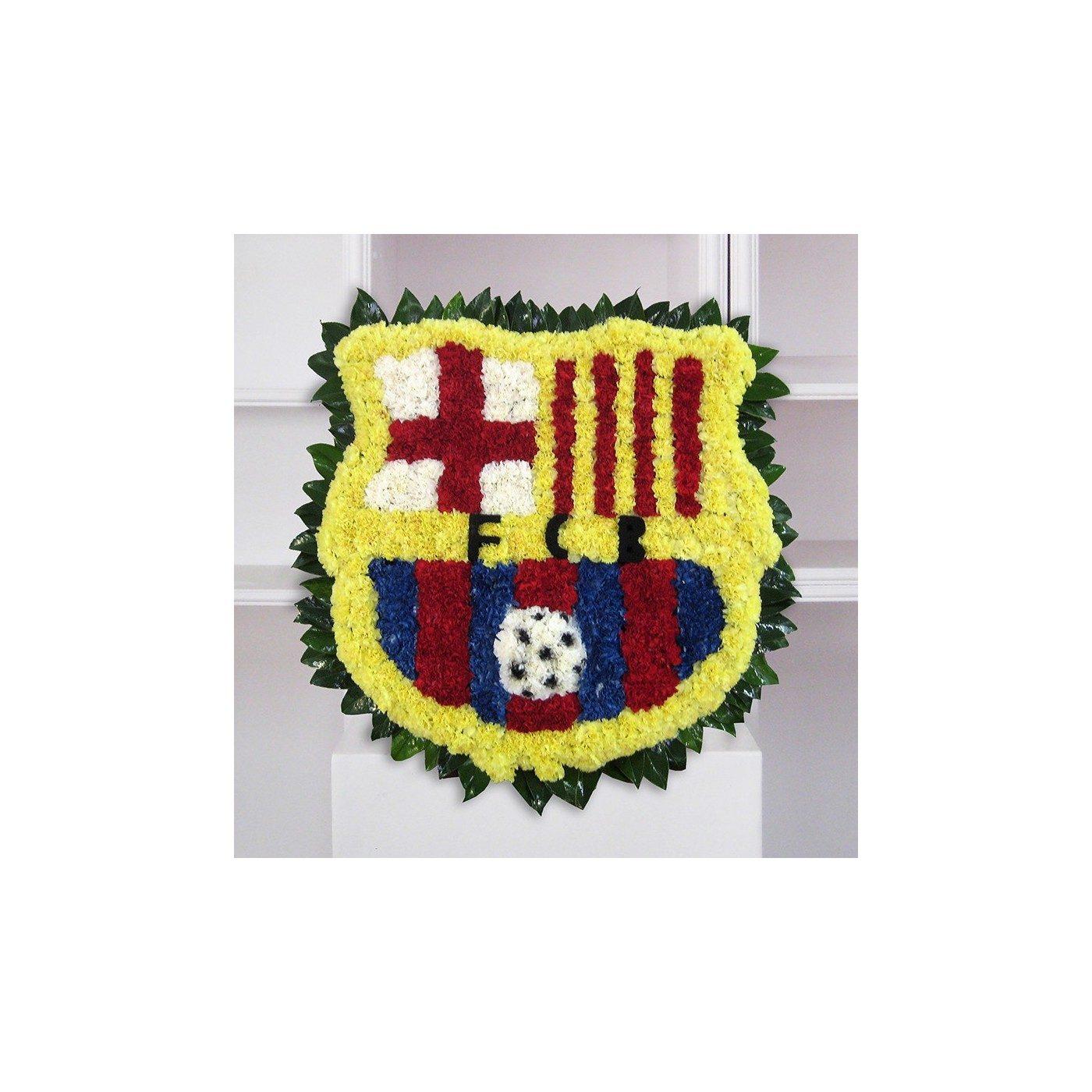 Plafón funerario del escudo del barça