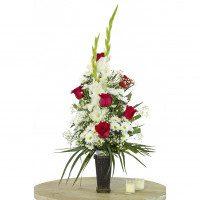 Cono de flor natural
