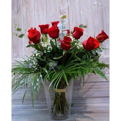 Ramo de 15 rosas del color que elijas