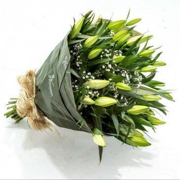 Comprar Ramo de lilium blanco Barcelona