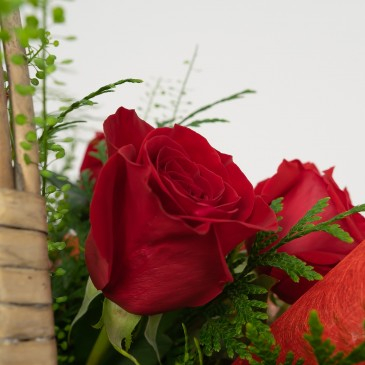 Comprar Cesta de rosas Barcelona