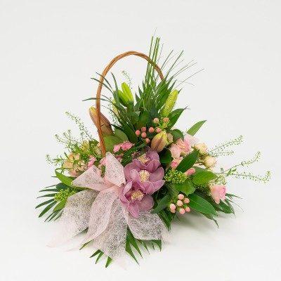 Comprar Cesta de flor variada a grupos Barcelona