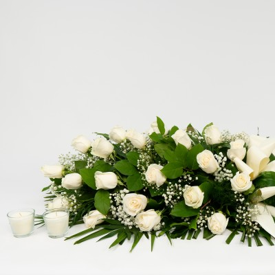 Comprar Ramo de rosas blancas Barcelona