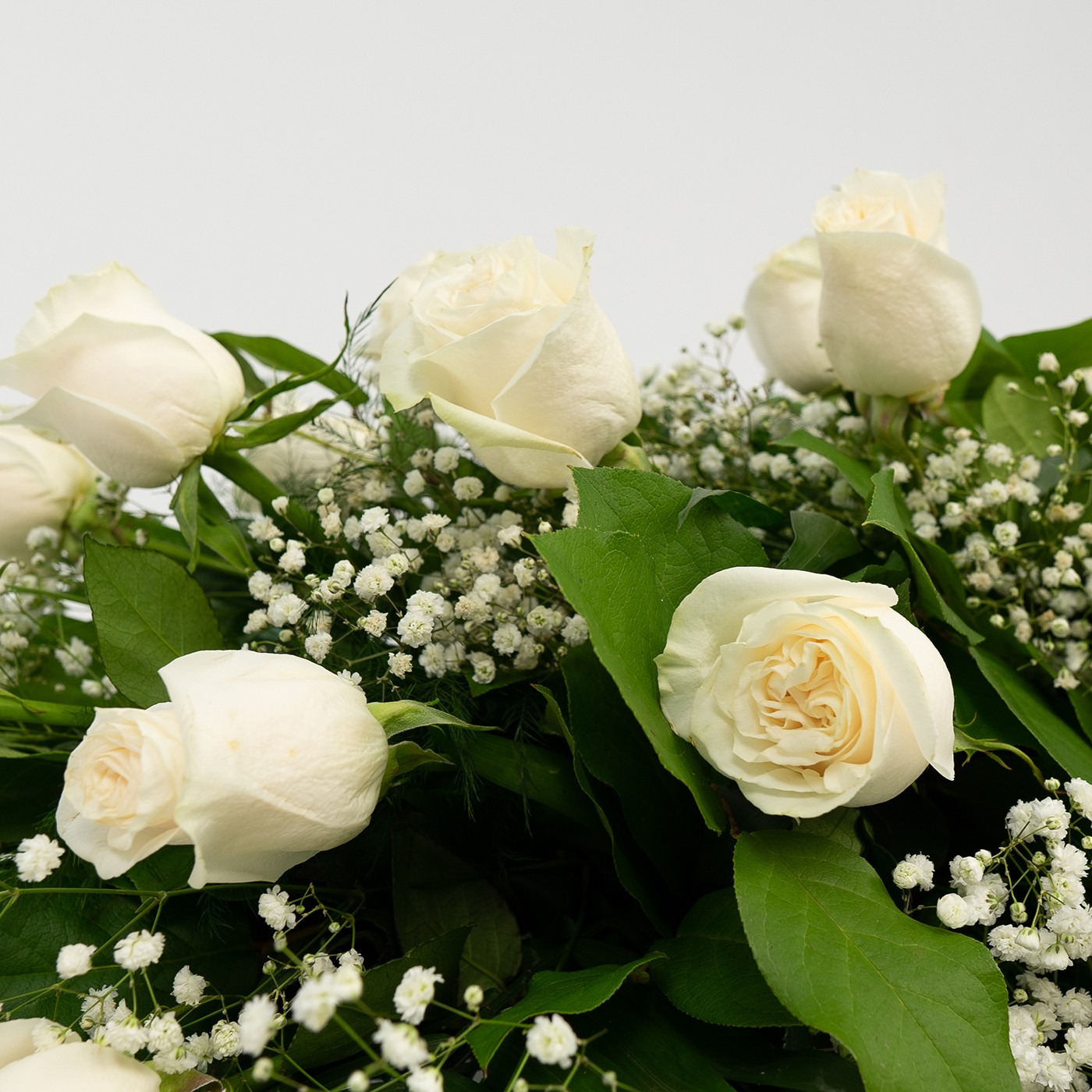 Comprar Ram de roses blanques Barcelona