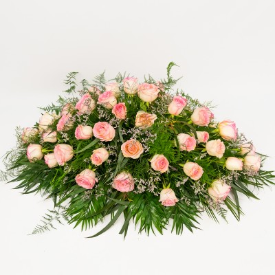 Pink roses cushion