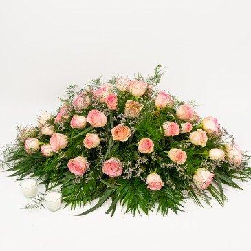Comprar Cojín de rosas rosas Barcelona