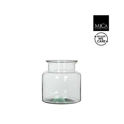 Mathew glass pot