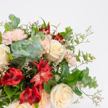 Comprar Ramo de rosas,claveles y alstromelia Barcelona