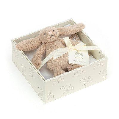 Bashful Beige bunny gift set