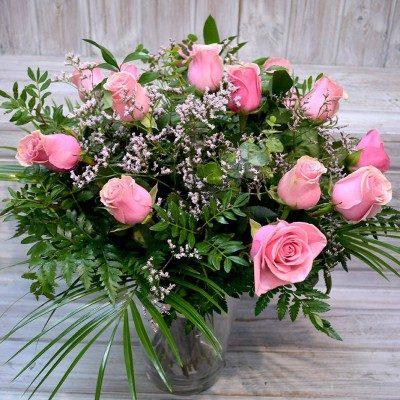 Ram de 15 roses roses